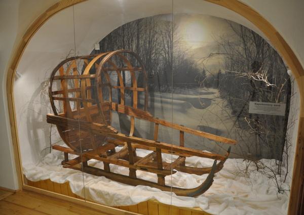 Fotografie zimní krajiny pro Městské muzeum v Letohradě