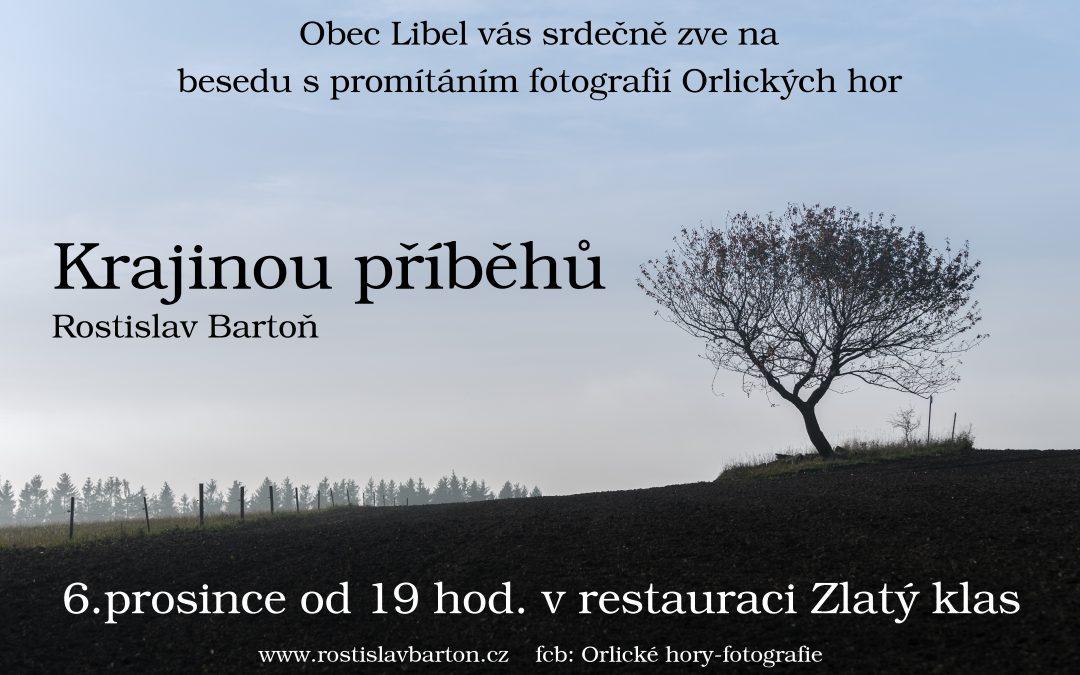 Beseda s promítáním v Libli