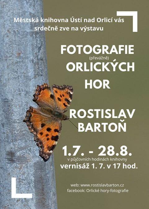 Výstava fotografií a vernisáž v Městské knihovně Ústí nad Orlicí